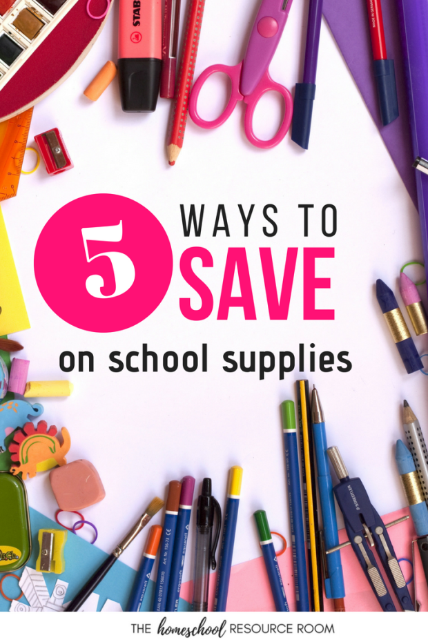 5 EASY ways to save on your school supplies list!