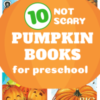10 Pumpkin Books for Preschool! NOT Scary for Little Kids