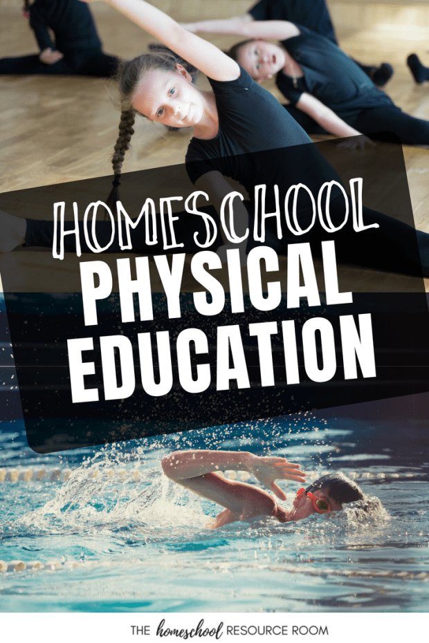 Do you homeschool physical education? Find ideas to include homeschool pe into your regular homeschool routine.