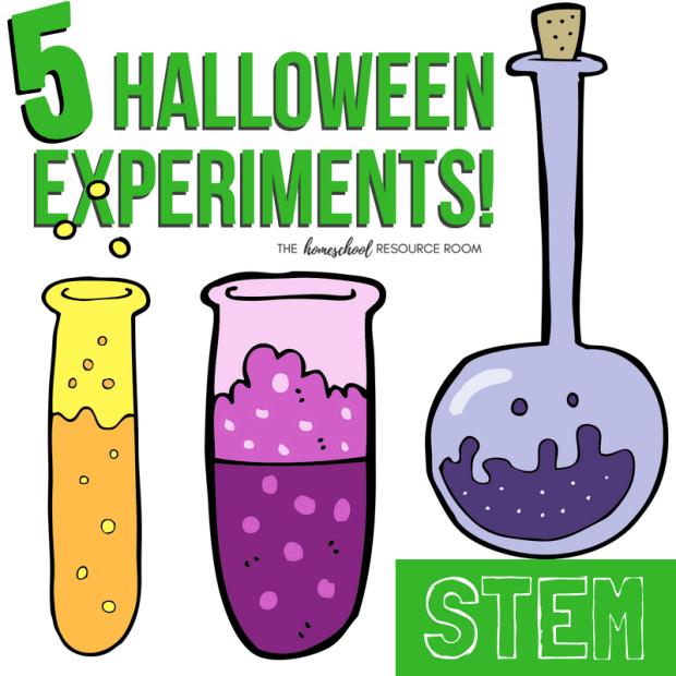 20 Halloween STEM Activities: 5 Halloween Science Experiments
