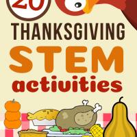 20 Thanksgiving STEM Activities!