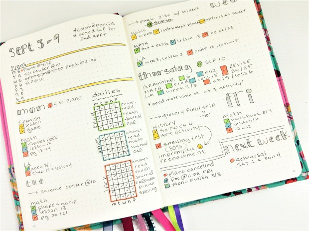 Homeschool Bullet Journal (7)