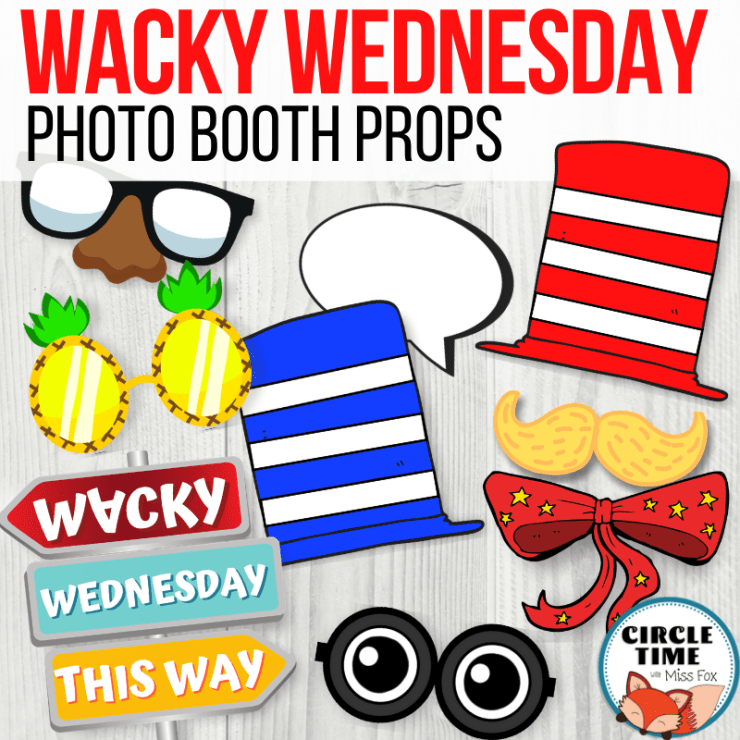 Wacky Wednesday Ideas, Photo Booth Props