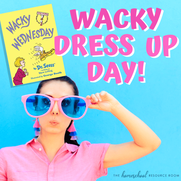 Dress up ideas for Wacky Wednesday