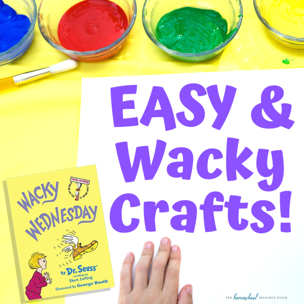 EASY Wacky Wednesday Crafts