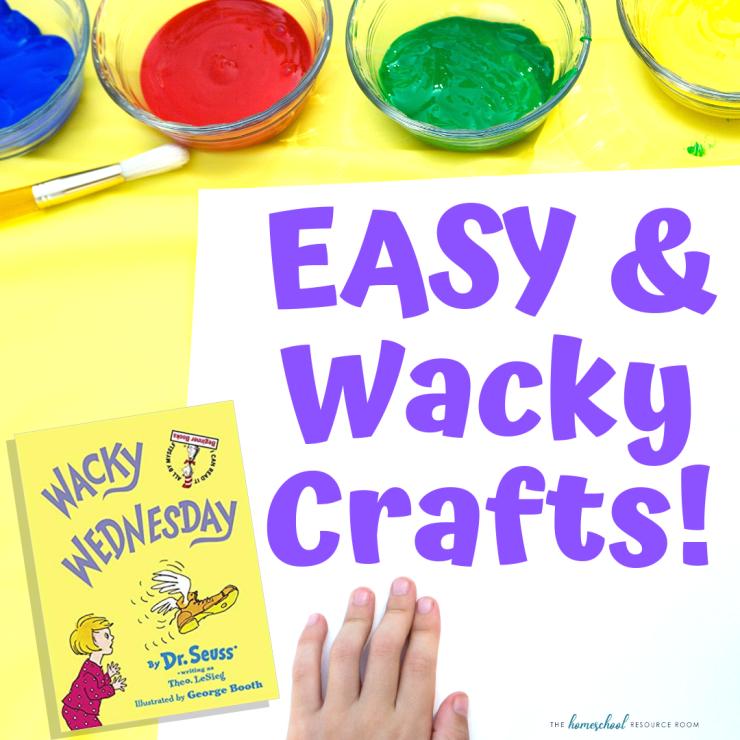 EASY Wacky Wednesday Crafts