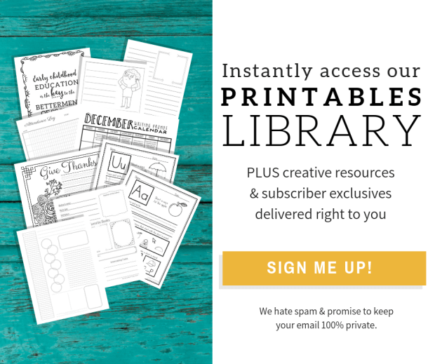 Subscribe to access our printables library!