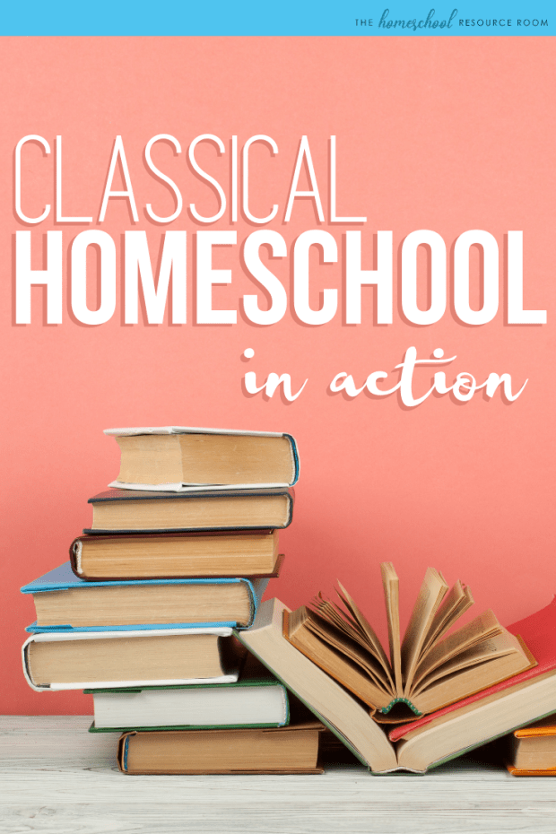 "Classical Homeschooling in Action, an interview with ""classically relaxed"" homeschooler and busy mom of three, Surya."