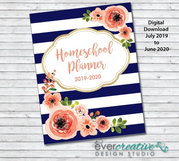 Printable Homeschool planners (3)
