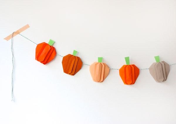 Pumpkin Crafts for Kids 12