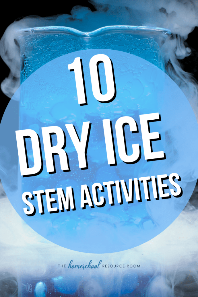 10 incredible dry ice STEM activities for kids! Science experiments and projects that will make your kids go WOW! #stem #stemeducation #dryice #scienceexperiments #science