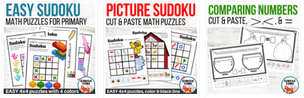 Find fun math activities for kids in our TPT store!