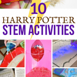 10 Magical Harry Potter Science Experiments Stem Activities The Homeschool Resource Room