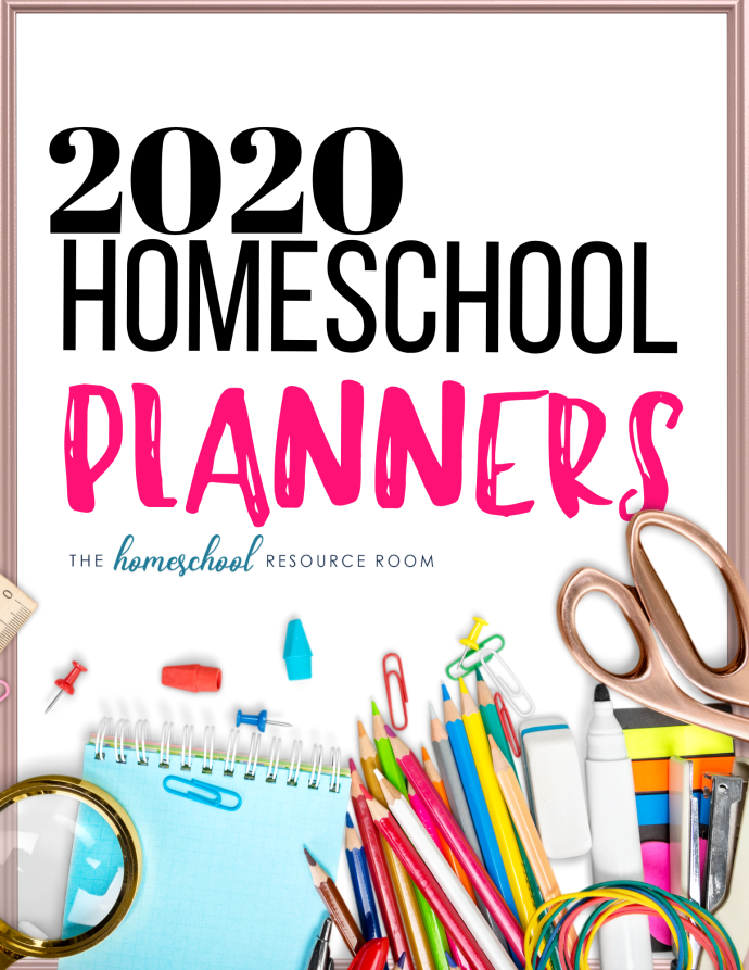 Find the best homeschool planner for you! Flip through and compare the most popular planners of 2020! #homeschool #secularhomeschool #planners #homeschoolplanner