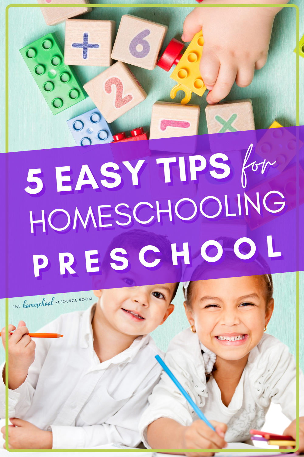 Homeschooling your preschool child can be daunting, but it really can be fun for both you and your child! Read on for 5 tips to get started on the right foot! #preschool #homeschooling #homeschooltips