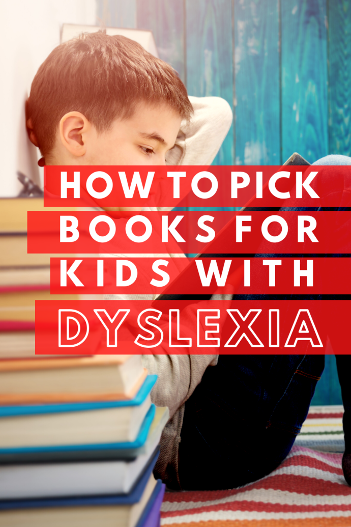 Books for Kids with Dyslexia: 3 tips to use with your struggling reader from a mom & special education teacher who understands the challenges associated with learning to read and wants to help! #dyslexia #raisingreaders #booksforkids