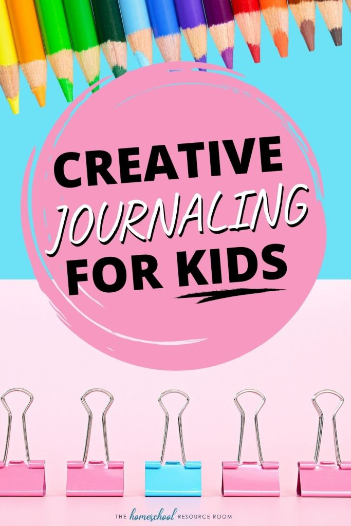 Create a writing prompt journal for kids!