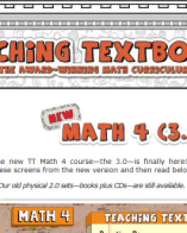 Teaching Textbooks: Math 4