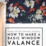 How To Make A Window Valance The Homes I Have Made