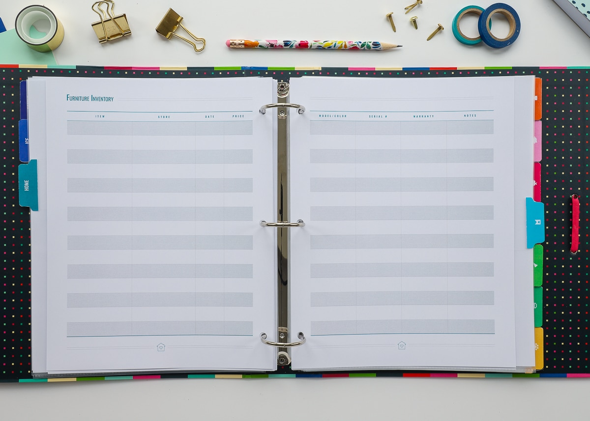New To The Organization Toolbox Printable Home Management