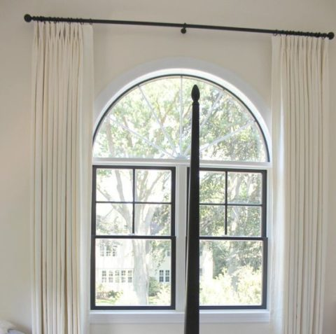 curtain ideas for bay windows and