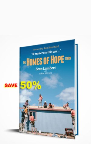 save 50% on The Homes of Hope Story (book)