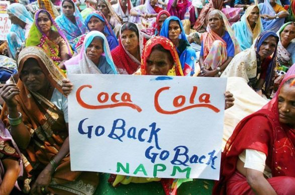 Coca-Cola protest Varasani India