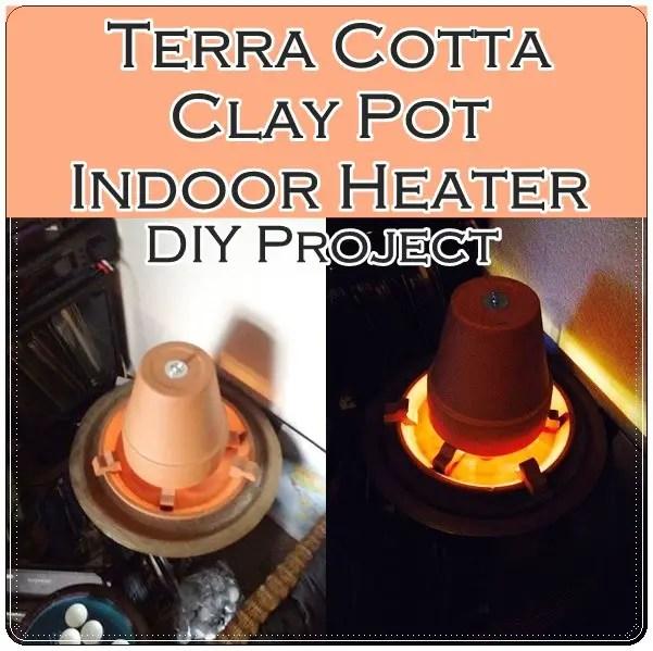 Diy Pots Heaters Terracotta