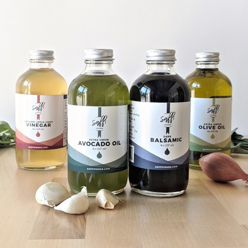 Saffi Foods oils and vinegars