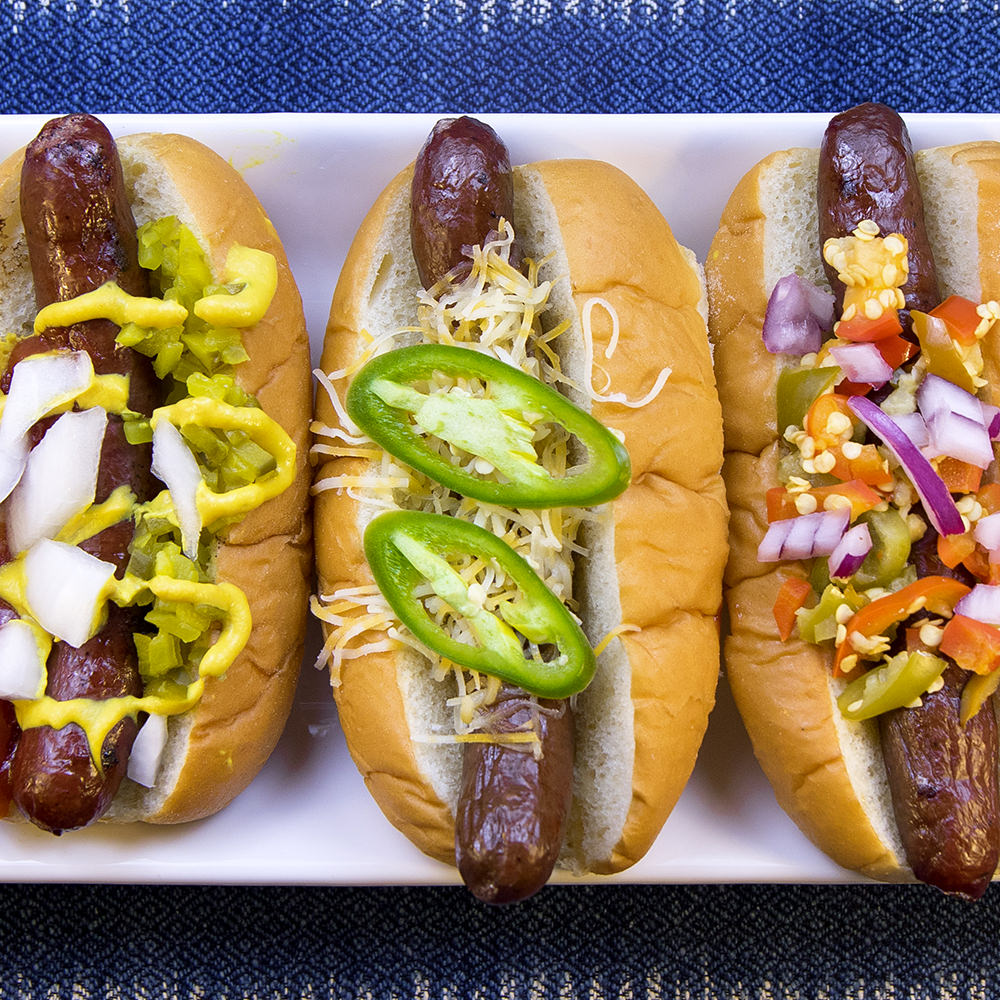 bison hot dogs