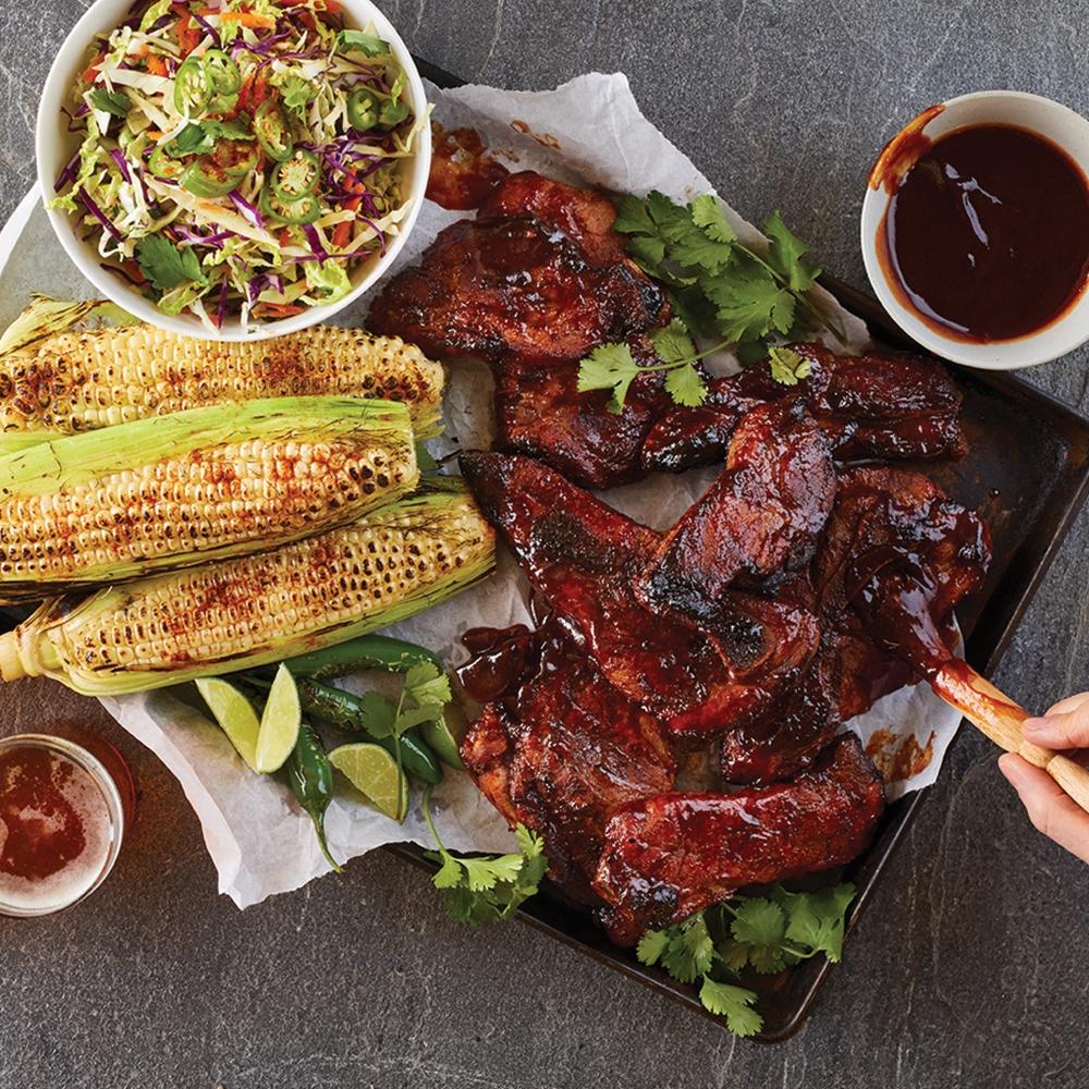 pastured pork ribs