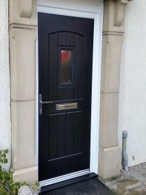 Black English Cottage Rockdoor