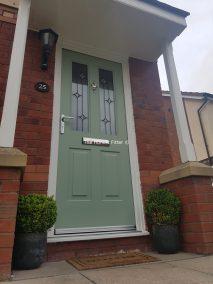 Jacobean Linear Chartwell Green Rockdoor The Honest Fitter Liverpool