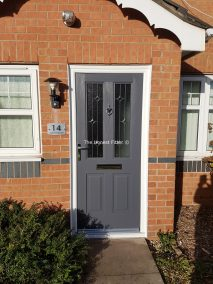 Jacobean Linear Slate Grey Rockdoor The Honest Fitter Liverpool