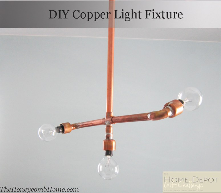 DIY Copper Light
