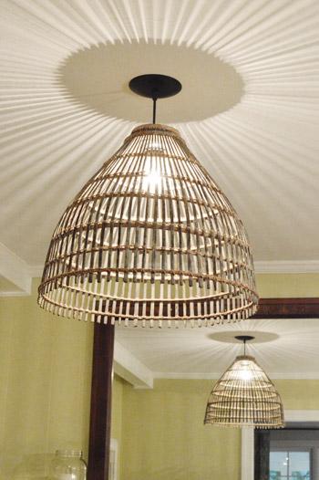Basket Pendant Light Fixture