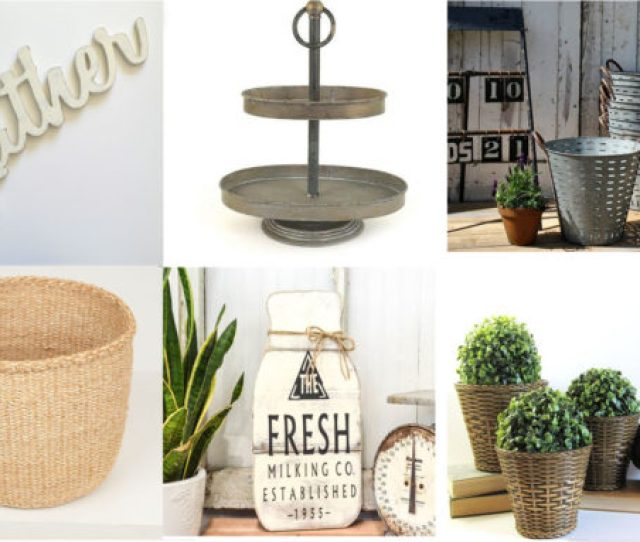 Farmhouse Style Gift Ideas From Etsy