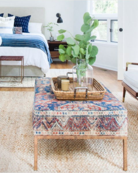 inspired by kilim rugs the honeycomb home