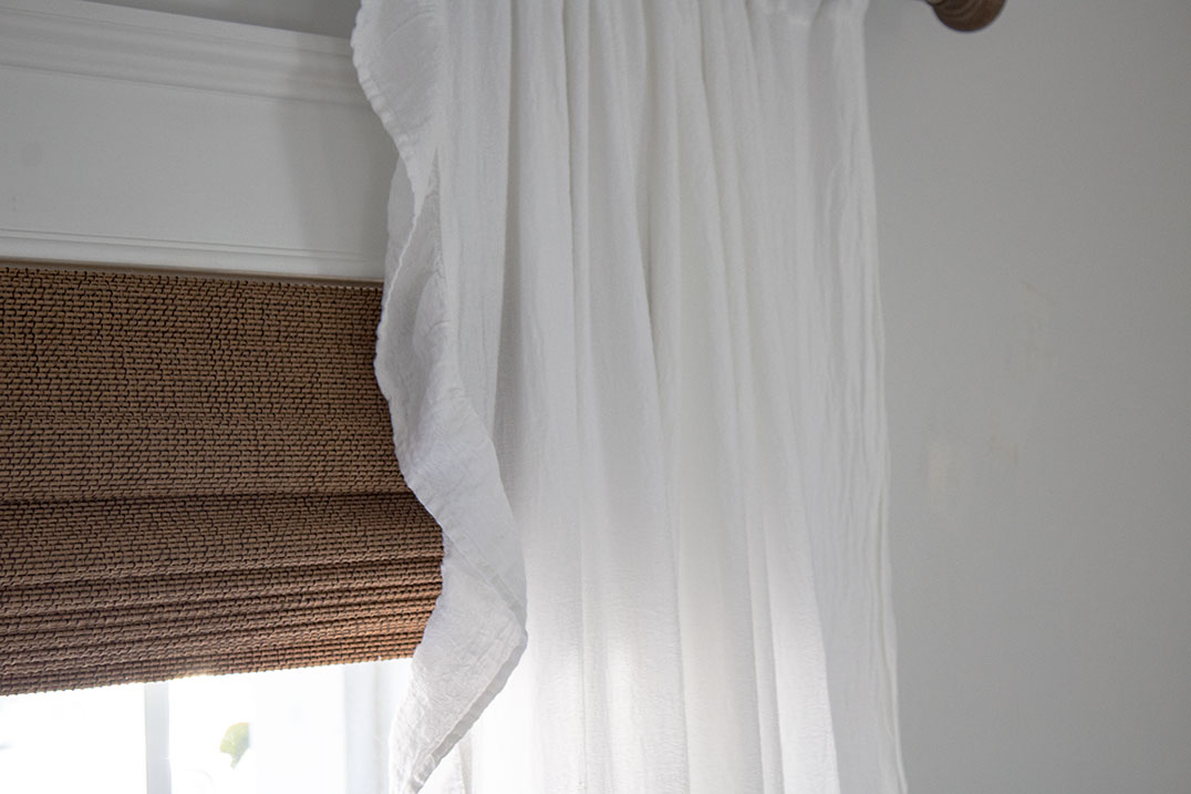 bamboo blinds for the living room the