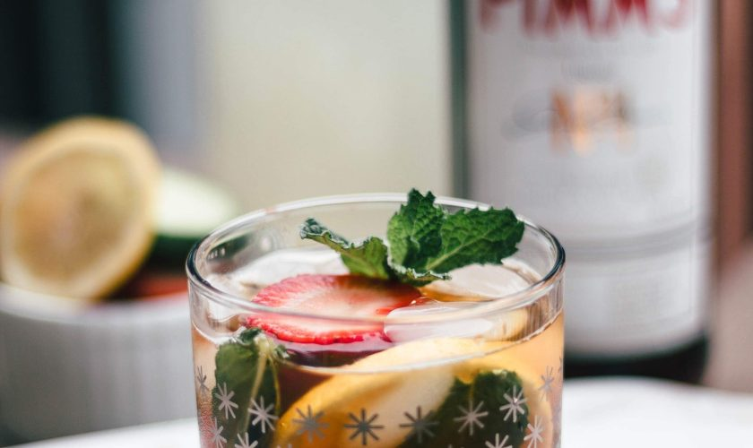 Guest Post: Summer Time Pimm's Cup