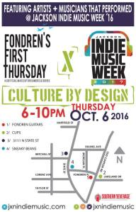 Jackson Indie Music Week x Fondren's First Thursday Join Forces For #CultureByDesign