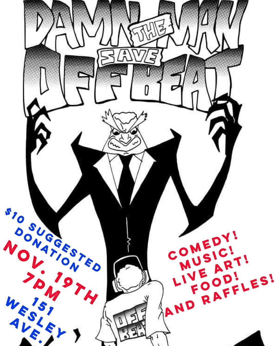 Damn the Man! Save the Offbeat! Benefit Event