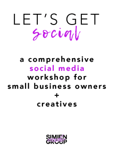 "Simien Media Group Hosts The ""#LetsGetSocial"" Workshop"