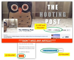 Don't miss any article by The Hooting Post! :)