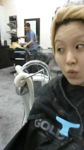 hair treatment w machine