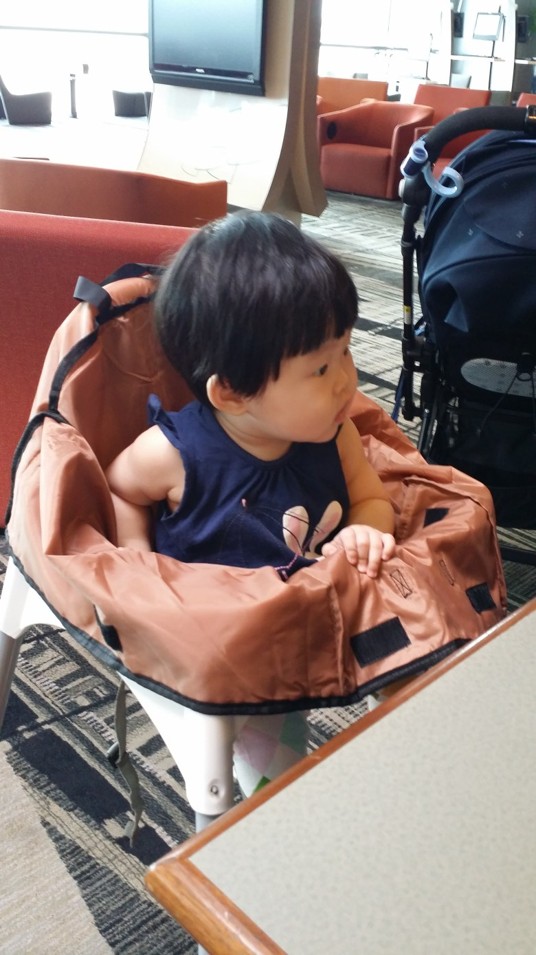 baby Vera travel to Taiwan at Changi Airport