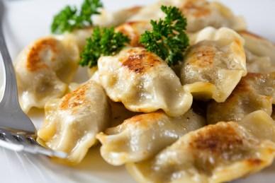 Pierogi - Polish Dumplings (Photo Credit: Roadtrips R Us)