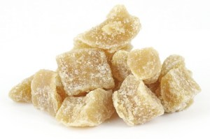 Candied Ginger Cubes. Credit: Photodictionary.com