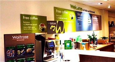 Waitrose Richmond Coffee Counter