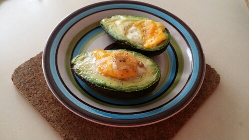 easy avocado recipes, breakfast ideas